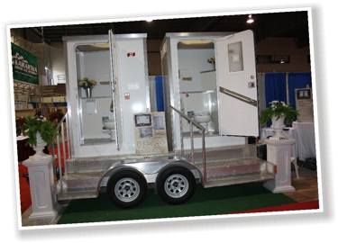 Portable Washroom Trailer Rentals The Classy Commode